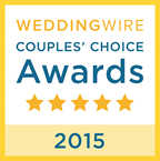 Wedding Wire Couples' Choice Award 2015